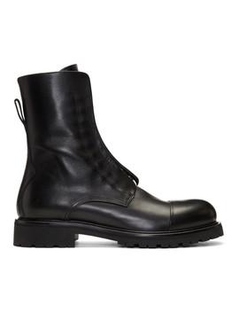 Black Huntscott Boots by Belstaff