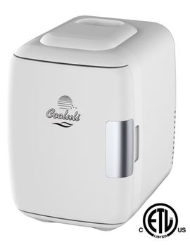 Cooluli Mini Fridge Electric Cooler And Warmer (4 Liter/6 Can): Ac/Dc Port.. by Cooluli
