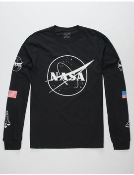 Neon Riot Nasa Symbol Mens T Shirt by Neon Riot