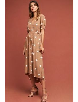 Bernice Polka Dot Wrap Dress by Maeve