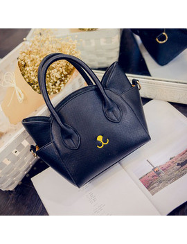 Aelicy High Quality Pu Leather Women Cat Face Shoulder Bags New Design Fake Designer Crossbody Bags For Women Soft Day Clutches by Aelicy