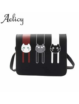 Aelicy Luxury Handbags Women Bag Fashion Women Messenger Bags Cat Female Crossbody Shoulder Bag Handbag For Girls Bolsa Feminina by Aelicy