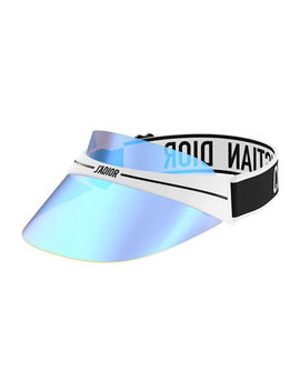 Dior Club1 Mirrored Logo Sun Visor by Dior