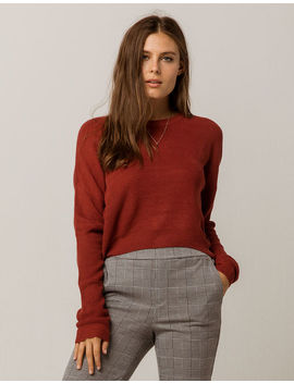 Ivy & Main Crop Rust Womens Sweater by Ivy & Main