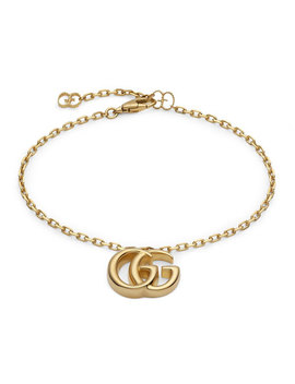 18k Yellow Gold Running G Bracelet by Gucci
