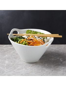 "Kai 8"" Noodle Bowl With Chopsticks by Crate&Barrel"