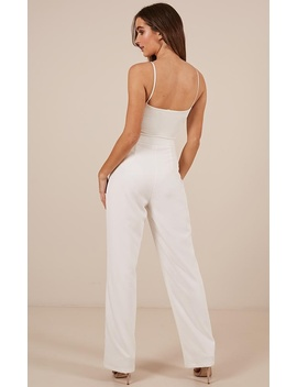 Pride And Joy Pants In White by Showpo Fashion
