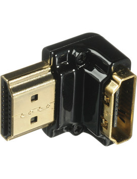 Hdmi 90 Degree Adapter   Horizontal To Vertical Orientation by Pearstone