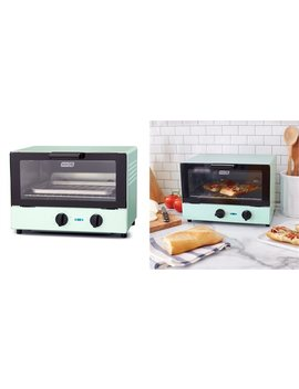 Compact Toaster Oven Aqua by Dash