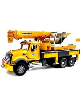 Bruder Mack Granite Liebherr Crane Truck by Bruder Toys