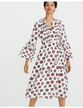 Madewell X Karen Walker® Floral Fantasia Ruffled Dress by Madewell