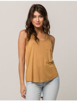 Bozzolo Butter Womens Pocket Tank by Bozzolo