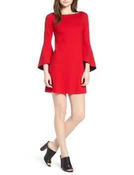 Bell Sleeve Ponte Shift Dress by Bailey 44