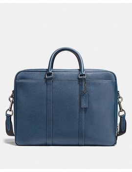 Metropolitan Double Zip Business Case by Coach
