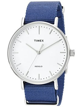 Timex Unisex Fairfield Nylon Slip Thru Strap by Timex