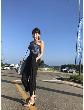 Mid Heel Wraparound Strap Sandals by Stylenanda