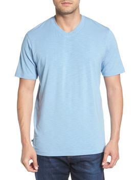 'trumbull' Trim Fit Slubbed T Shirt by Travis Mathew