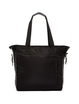 Chamber Cow Leather Trim Tote Bag by Allsaints