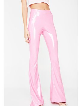 Cotton Candy Pvc Flare Pants by Grayscale