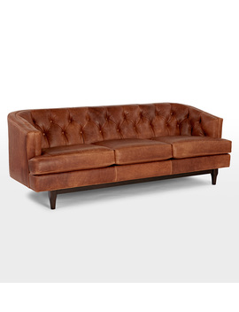 Monrowe Leather Sofa by Rejuvenation