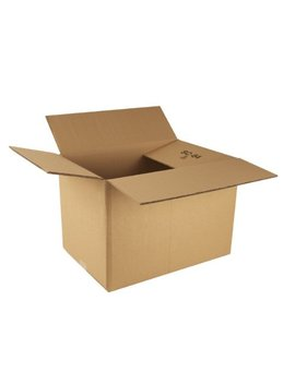 Ambassador Packing Carton Double Wall Strong Flat Packed, 457x305x305mm, Pack Of 15 (307688) by Ambassador