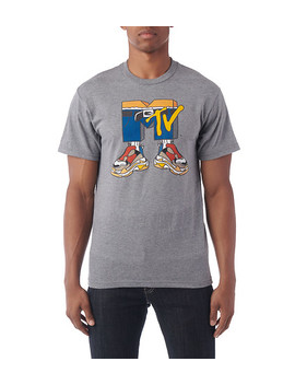 Mtv Sneaker Logo Ss Tee by We Rep Culture