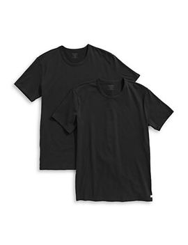 Two Pack Crew Neck T Shirts by Calvin Klein