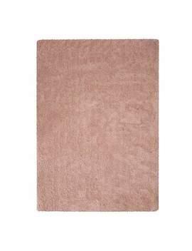 Teddy Bear Blush Pink Rug by Dunelm