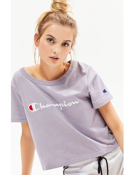 logo-cropped-t-shirt by champion