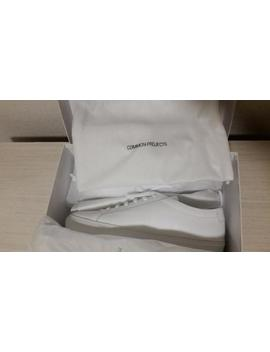 Common Projects Achilles Low White Leather 44 by Common Projects