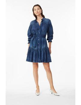 La Vie Tissue Denim Dress by Rebecca Taylor