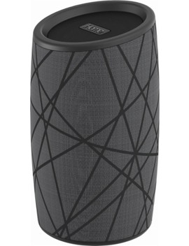 ibt77-portable-bluetooth-speaker---gray_black by ihome