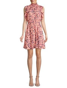 Prairie Rose Flutter Mini Dress by Kate Spade New York