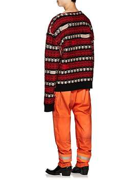 Cotton Gabardine Firefighter Pants by Calvin Klein 205 W39 Nyc