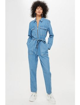 Utility Zip Boiler Suit by Topshop