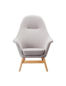 Argos Home Reuben Fabric Chair   Light Grey by Argos