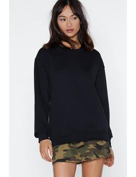 Captain Sweatshirt by Nasty Gal