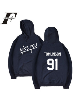 Luckyfridayf Louis Tomlinson One Direction Hoodies Man/Women Hoodies Sweatshirt Winter Sweatshirt Women Hoodies Casual Clothes by Luckyfridayf