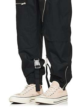 Shuttle Cotton Poplin Track Pants by Off White C/O Art Dad
