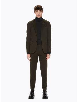Mott   Herringbone Trousers <Br> Super Slim Fit by Scotch&Soda