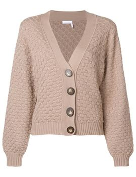 Textured Chunk Knit Cardigan by See By Chloé