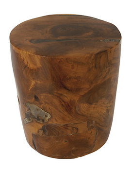 Teak Wood Stool by Uma Enterprises
