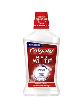 Colgate Max White Expert Whitening Mouthwash 500ml by Colgate