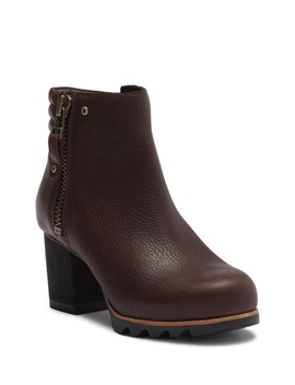 Danica Waterproof Leather Bootie by Sorel