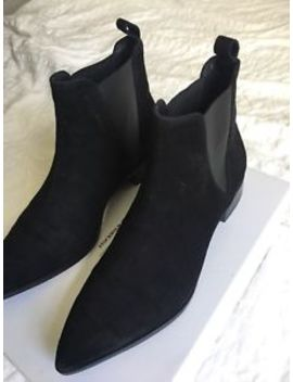 & Other Stories Black Suede Chelsea Boot Size 6 by Ebay Seller