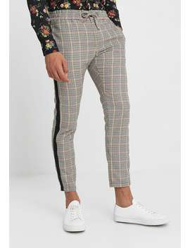 Teddy Check Jogger   Tygbyxor by Topman