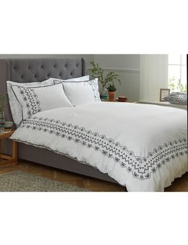 Argos Home Infusion Embroidery Bedding Set   Single by Argos