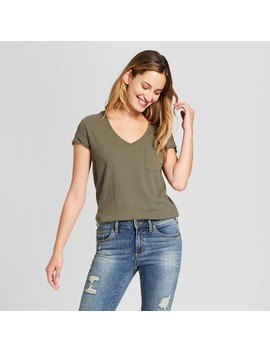 Women's Monterey Pocket V Neck Short Sleeve T Shirt   Universal Thread™ by Shop All Universal Thread™