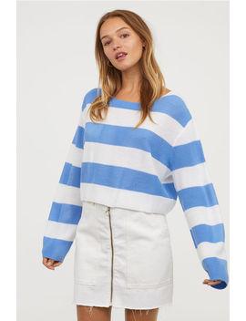Sweter W Paski by H&M