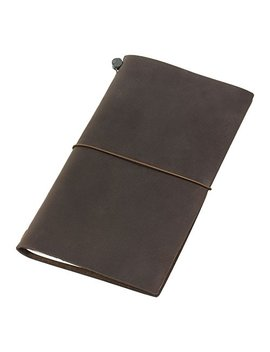 Midori Traveler's Notebook Brown Leather by Traveler's Company